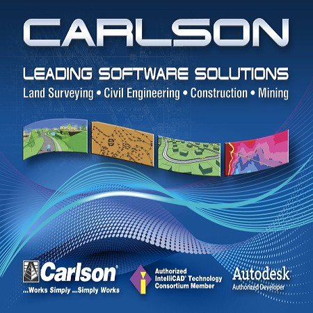Carlson Software Solution for Land Surveying - Retail