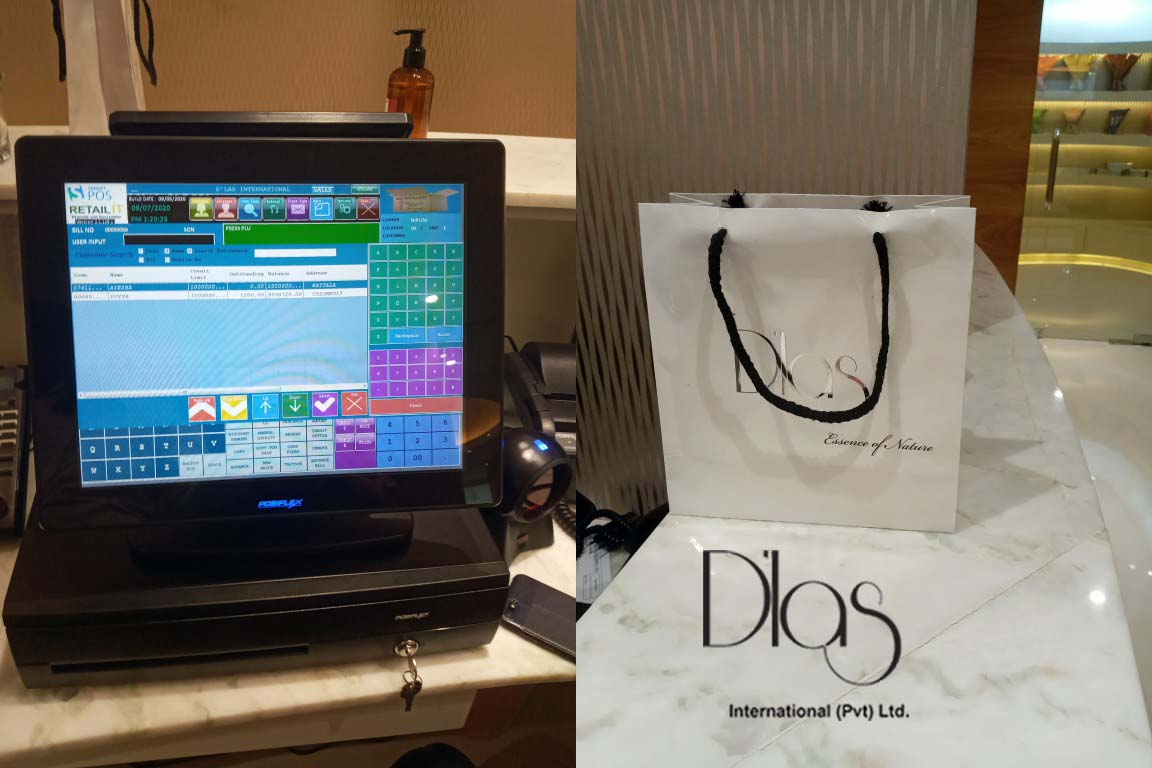D'las International goes live with Retail IT POS Systems